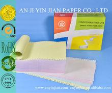 Paper for Impact Printer No Carbon Paper Continuous Paper