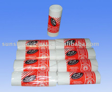 High quality star sealed plastic garbage bag on roll