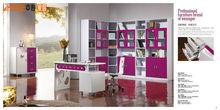 Modern furniture high gloss finish set 9P001#