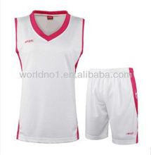 las mujeres al por mayor de baloncesto uniforme