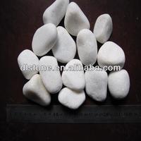 Snow White garden pebbles for sale cobble stone mat