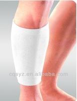 cheap cotton elastic sports protector shin guard calf pads