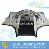 Fiberglass pole living outdoor tent waterproof