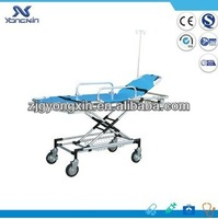 Widely used ambulance stretcher trolley, low price folding stretcher
