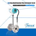 ss304 flangeadas de vórtice de ar comprimido de medidor de fluxo