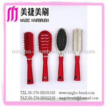 round brush professional plastic hair brushes