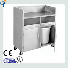 mutil-function mobile stainless steel recylable work bench