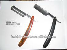 Barbiere rasoioin acciaioinox forgiato, rasoio usa e getta, rasoio a lama singola