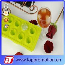 Food grade silicone diamond shaped ice cube tray