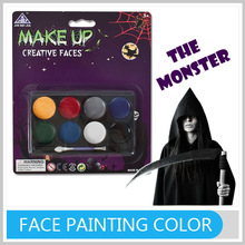 Latest Fashion 8 Colorful Face Paint Set Halloween Gifts For Kids With All Certificates