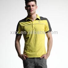100% men cotton shirts polo t-shirt ow