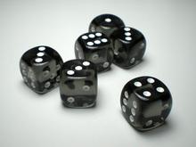 30MM transparent round corner jumbo dice