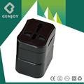 Genjoy besten akzeptiert universal double-adapter steckdose ce, fcc, rohs