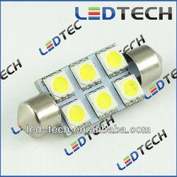 tuning light festoon light led 39mm 6smd festoon reading light