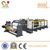 Servo Motor Control Shaftless Rotary Paper Sheeter, Paper Roll to Sheet Cutting Machine, Fluting Paper Cross Sheeter