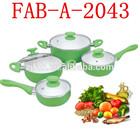 New Healthy Aluminum Cookware Set Ceramic Coating