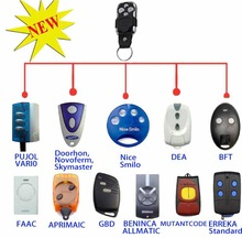 Niza, Bft, Faac, Compatible 12 marcas europeas de Control remoto