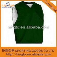 custom mesh reversible basketball jersey