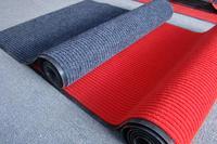 polyester ribbed PVC matting roll
