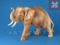 éléphant en bois suar 15/20/30 cms'il