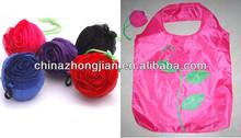 2013 fashion Easy More Rose Foldable Reusable Shopping Tote Bag Environmental*Various Colors