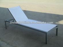 F--CF943L best selling aluminum +fabric no folding beach lounge