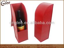 Unique Designed Leather Wine Box wine carrier