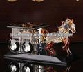 hermosa figuritas de cristal caballo