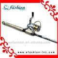 fibra de carbono varas de pesca e bobinas
