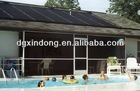 Best efficiency plastic and rubber solar collector for pool & spa
