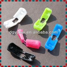 Colorful garment zipper pull cord stopper