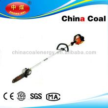 Shandong China Coal hot sale long handle gasoline pole chain saw