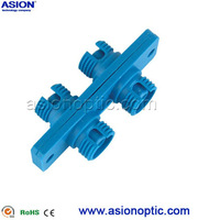 Profession manufacture st duplex fiber optical adapter