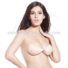 Top selling self adhesive hot girl bra models nice girls nude bra plus size