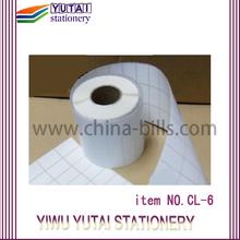 roll to roll digital label printing/ label rolls