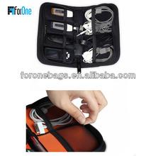 Fashion charging cable storage bag/USB storage bag/toolkit