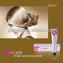 MIDO manufacturer 51 shades chemical free herbal natural sensitive scalp damaged hair 100% botanic herbal hair colors