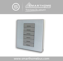 Smart-Bus G4 6 Button Switch Wall Panel