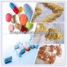 natural nutrition capsules gelatin/gelatin powder/medical grade gelatin plant in China