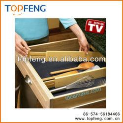 plastic drawer divider drawer organizer adjustable drawer divider