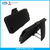 Holster combo case for iphone 5 cover case with swivel belt clip