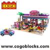 COGO Plastic Construction Toy Fashion Girl Series Construction Building Toys