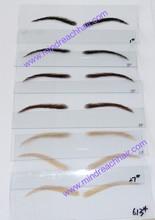 Top quality human hair eyebrow