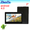 7 Inch Support Android 4.0,Wifi,Camera Cheap Mini Tablet Pc