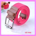 diseño de la tela de moda las mujeres cinturones superior y pantalones de fantasía banda cinturones de marca de fábrica