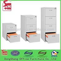 Multi drawer metal file cabinet