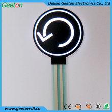 EL Backlight Membrane Switch Keyboard Manufacturer