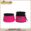 nylon separable double layer pet travel bowl 40101,Folding Pet Bowl