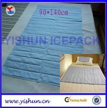 Summer use Cool Gel mat mattress topper for bed