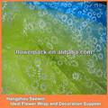 Petite fleur décoratif imprimé Organza tissu rouleau pour le printemps